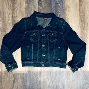 Arizona Dark Denim Jacket Size Large